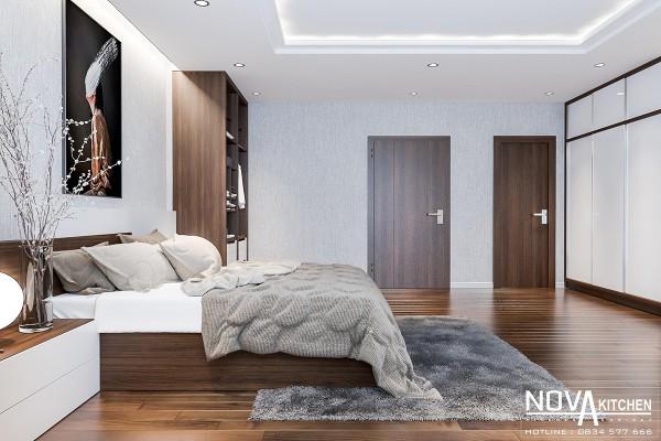 Thiết kế phòng ngủ cao cấp hiện đại