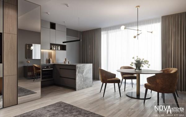 Thiết kế và thi công tủ bếp cao cấp