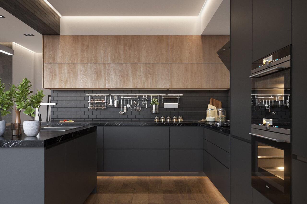 Tủ bếp MDF phủ Melamine có tốt không? Những ưu điểm của sản phẩm là gì?